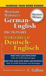 M-W German-English Dictionary - Merriam-Webster