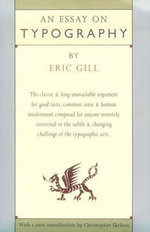 An Essay on Typography - Eric Gill