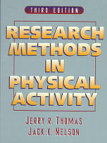 Research Methods in Physical Activity - Jerry R. Thomas