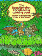 The Reptalphabet Encyclopedia Coloring Book - Keith McConnell