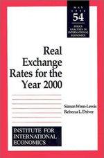 Real Exchange Rates for the Year 2000 - Simon Wren-Lewis