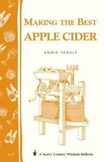 Making the Best Apple Cider : 000138437 - Annie Proulx