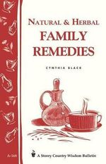 Natural and Herbal Family Remedies - Cynthia Black