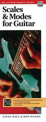 Scales and Modes for Guitar : Handy Guide - Steve Hall
