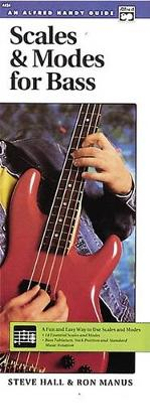 Scales and Modes for Bass : A Fun and Easy Way to Use Scales and Modes in Your Playing - Steve Hall