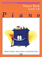 Alfred's Basic Piano Course Theory, Bk 1a : Alfred's Basic Piano Library - Willard Palmer