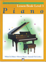Alfred's Basic Piano Lesson Book Level 3 : Level 3 - Willard A Palmer