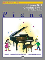 Alfred's Basic Piano Course Lesson Book : Complete 1 (1a/1b) - Willard Palmer