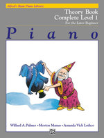 Alfred's Basic Piano Course Theory : Complete 1 (1a/1b) - Willard Palmer