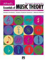 Alfred's Essentials of Music Theory : Teacher's Answer Key - Karen Surmani