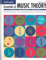 Alfred's Essentials of Music Theory : Complete, Book & 2 CDs - Andrew Surmani