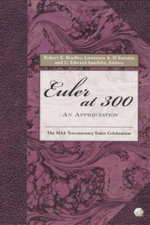 Euler at 300 : An Appreciation