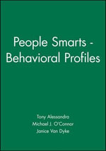 People Smarts: Observer Assessment : Behavioral Profiles - Tony Alessandra