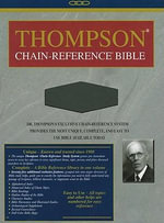 Thompson Chain Reference Bible-NIV : A Prayerbook for Peace
