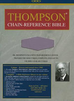 Thompson Chain Reference Bible-KJV - Kirkbride Bible Company