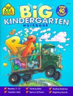 Color Big Get Ready Kindergarten - School Zone Publishing