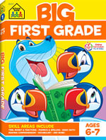Big First Grade Workbook - School Zone Publishing