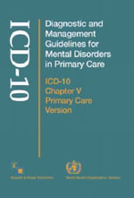 Diagnostic and Management Guidelines for Mental Disorders in Primary Care : ICD-10 Chapter V Primary Care Version - World Health Organization