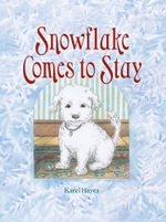 Snowflake Comes to Stay - Karel Hayes