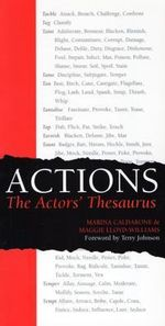 Actions : The Actors' Thesaurus - Marina Calderone