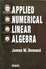 Applied Numerical Linear Algebra - James W. Demmel