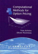 Computational Methods for Option Pricing : Frontiers in Applied Mathematics - Olivier Pironneau