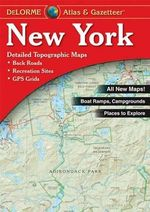 New York State Atlas and Gazetteer - DeLorme
