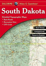 South Dakota - Delorme - Rand McNally