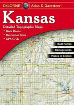 Kansas - Delorme 1st / - Rand McNally