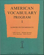 American Vocabulary Program 1: Lower Intermediate Program 1 : Lower Intermediate - Mark Powell