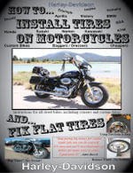 How To Install Tires On Motorcycles & Fix Flat Tires - James Russell