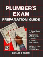 Plumber's Exam Preparation Guide - Howard C Massey