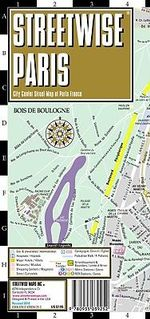 Streetwise Paris : Folding Pocket Size Travel Map - Michael Brown