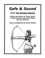 Safe & Sound from the Hunger Games : Arranged for Harp