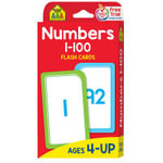 Flash Cards - Numbers 1 - 100 - School Zone