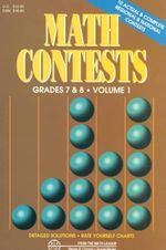 Math Contests - Grades 7 & 8 : Surival - Steven R Conrad
