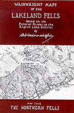 Wainwright Maps of the Lakeland Fells : The Northern Fells Map 5 - Alfred Wainwright