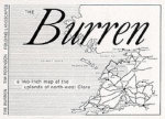 The Burren : A Two Inch Map of the Uplands of North-west Clare - Tim Robinson
