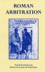 Roman Arbitration - Derek Roebuck