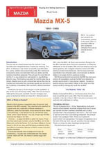 Mazda MX5 Buyers' Guide - Chris Mellor
