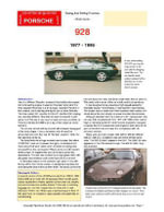 Porsche 928 Buying Guide - Chris Mellor