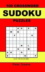 100 Crossword Sudoku Puzzles - Peter Greene