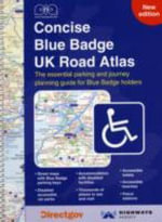 Concise Blue Badge UK Road Atlas : The Northern Fells Map 5