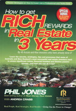How to Get Rich Rewards In Real Estate In 3 Years : Bonus - Free Audio CD - Phil Jones