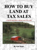 How to Buy Land at Tax Sales - Lin Stone