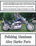 Polishing Aluminum Alloy Harley Parts - Lynn M. Perry