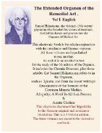 The Extended Organon of the Remedial Art  of Samuel Hahnemann (english) - Samuel Hahnemann