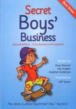 Secret Boys' Business : This Book is about Important Boys' Business - Rose Stewart