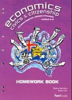 Economics Civics and Citizenship : Homework Book - Hamilton Elaine Farr Robin