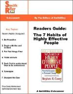 Readers Guide : The 7 Habits of Highly Effective People - Editors, of SmithRiley